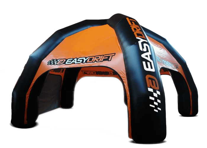 opblaasbare spidertent easy drift tent Virtus for Events