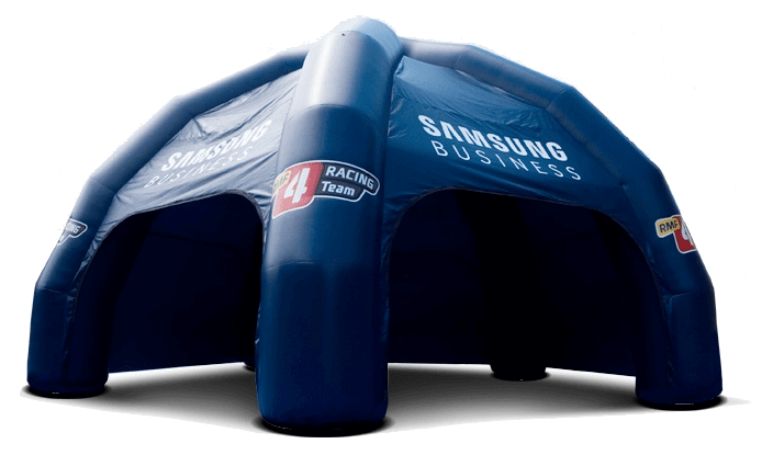 opblaasbare spidertent inflatable GWR