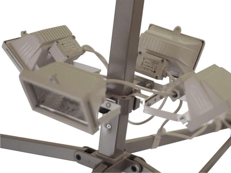 vouwtent - EXTRA -halogeenlampen