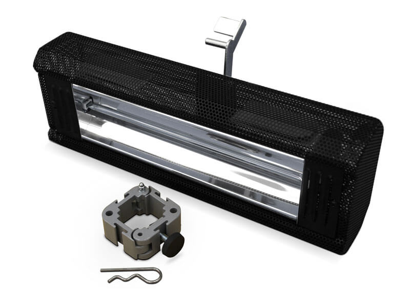 vouwtent - EXTRA - heater kachel
