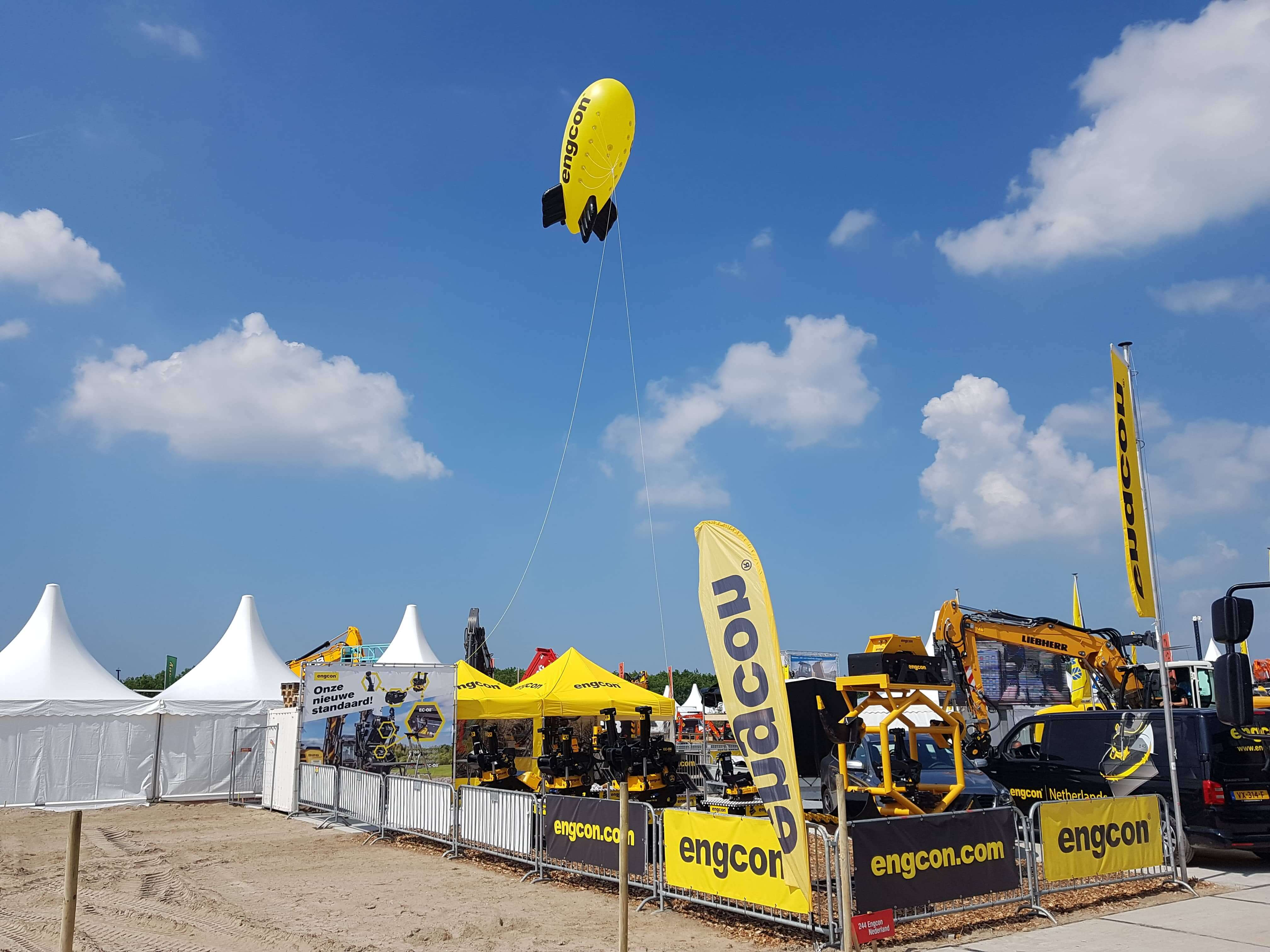 beurstenten engcon - virtus for events