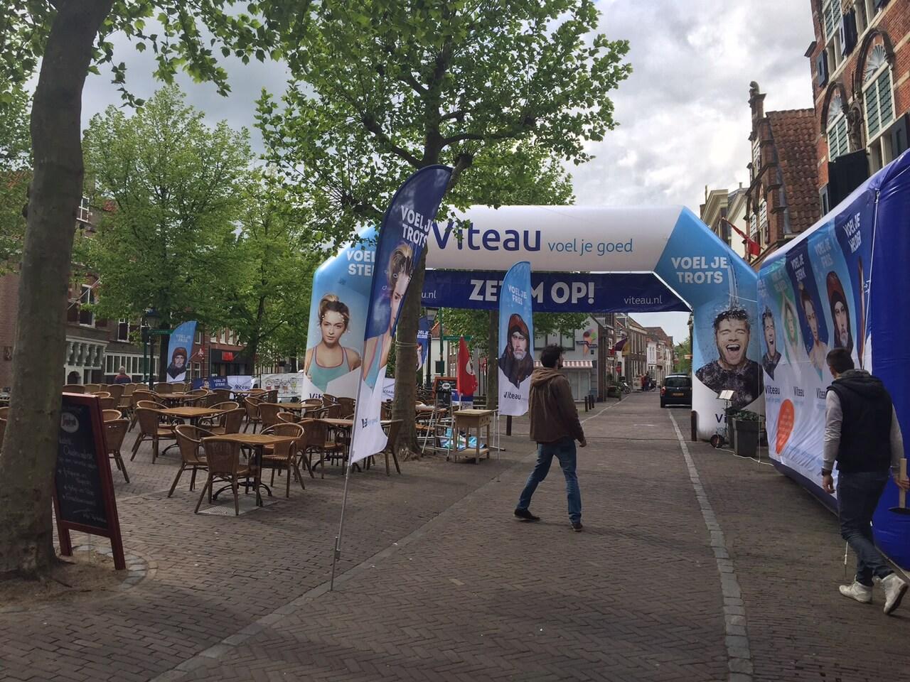 viteau - virts for events - reclametent reclameboog reclamvlaggen banners