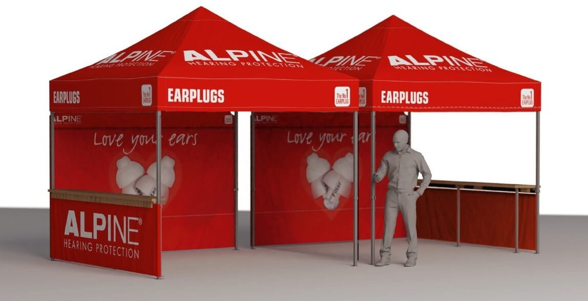 alpine beurstent virtus for events