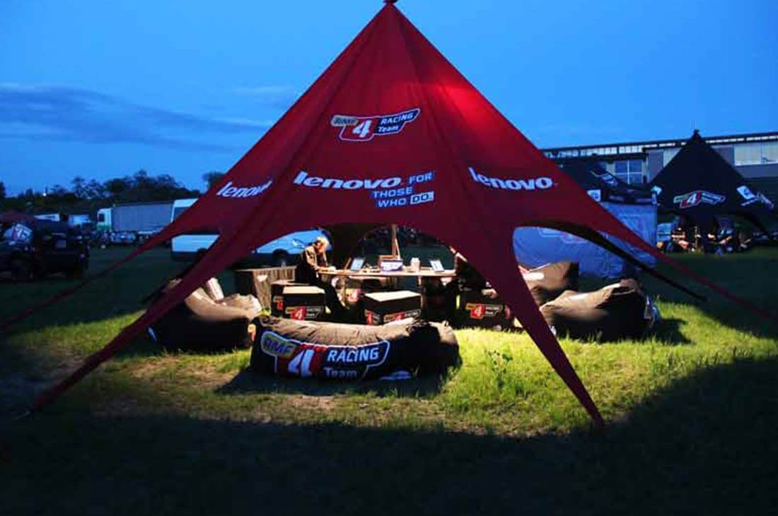 Bedrukte Startent Lenovo - Virtus For Events