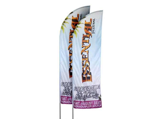 Beachflag Virtus For Events - Klant Essential Festival