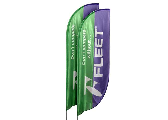 Beachflag Virtus For Events - Klant Fleet