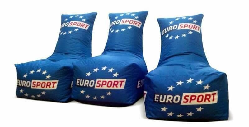 Bedrukte Zitzak Stoel - Klant Euro Sport