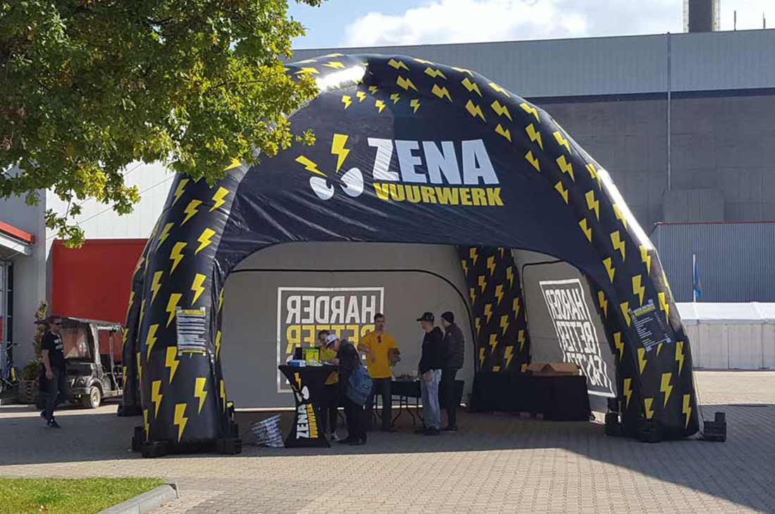 Opbaasbare Spidertent Virtus For Events - Zena