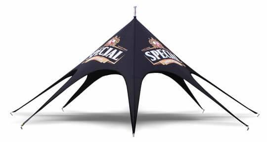 Bedrukte Spidertent Mini Specjal Virtus For Events