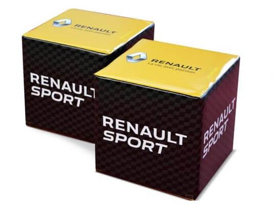 Bedrukte Zitkubus Renault Sport