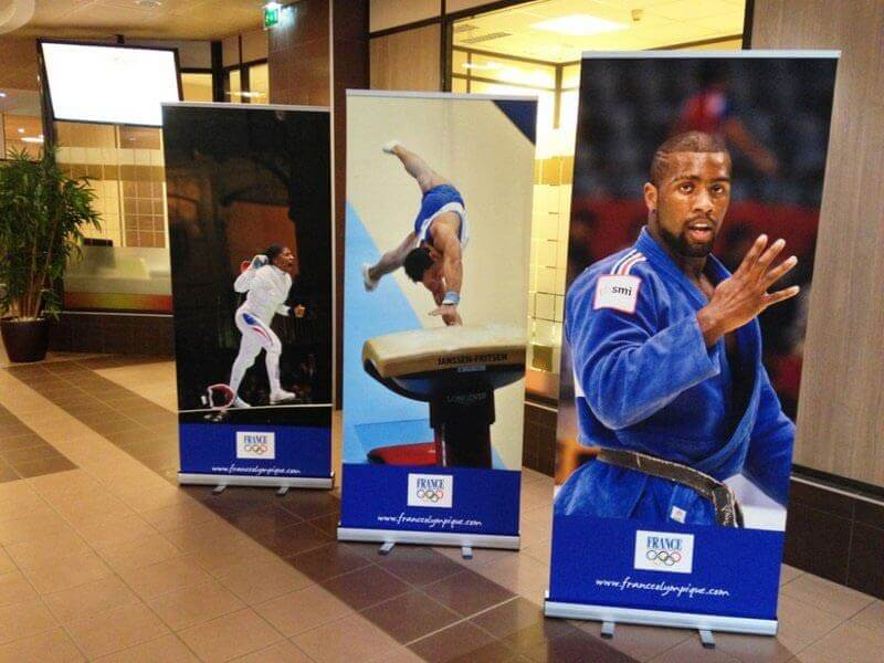 Rollup Banners France Olympique